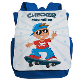 Kindergartenrucksack mit Namen | Motiv Checker &...
